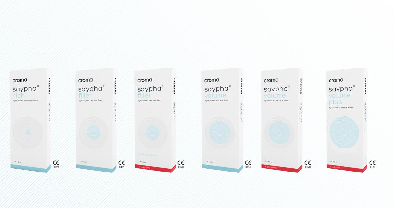 Филлеры Saypha от Croma Pharma